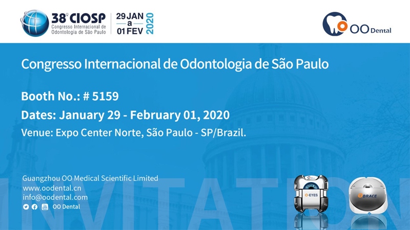 Invitation: 38th CIOSP, São Paulo, Brazil, Jan 29th - Feb. 1st, 2020